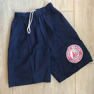Venice Beach Boys Drawstrings Cotton Navy Shorts